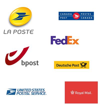 WorldParcel maakt gebruik van verschillende pakketdiensten wereldwijd